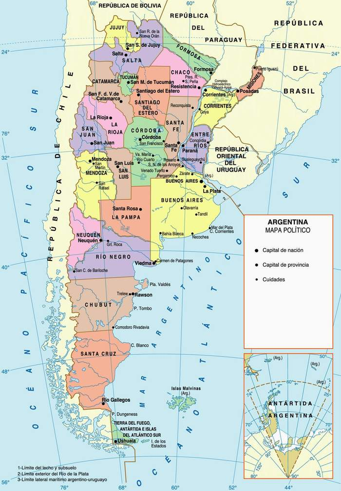 Argentina Home - Argentina agriculture map