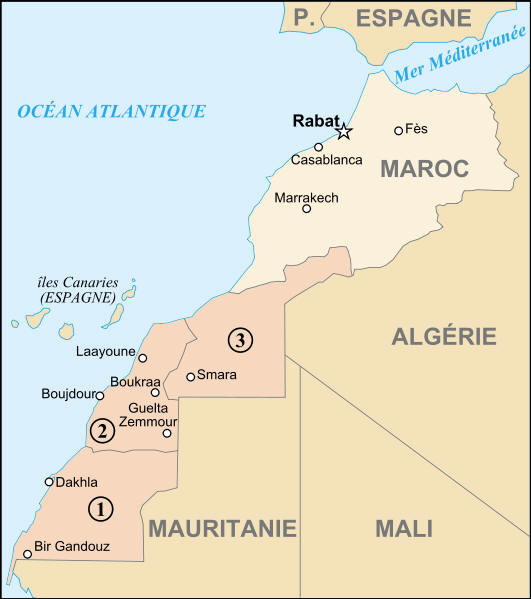 West Africa and Morocco Route Maps