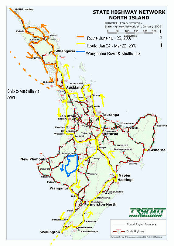 Map New Zealand South Island Detailed.New Zealand Maps