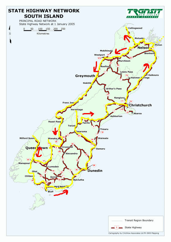 South Island Map Of New Zealand.New Zealand Maps